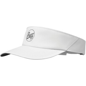 Buff Visor r-solid white